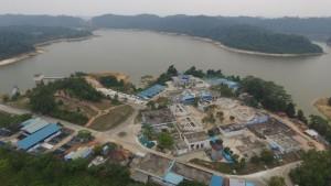 Dok ATB/Instalasi Pengolahan Air (IPA) Mukakuning yang dioperasikan ATB untuk memenuhi kebutuhan air bersih di wilayah Mukakuning, Sagulung, Batu Aji hingga Marina.