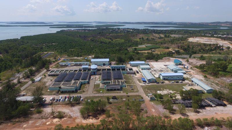 IPA Duriangkang yang menjadi andalan ATB untuk memenuhi kebutuhan air bersih di Pulau Batam.//