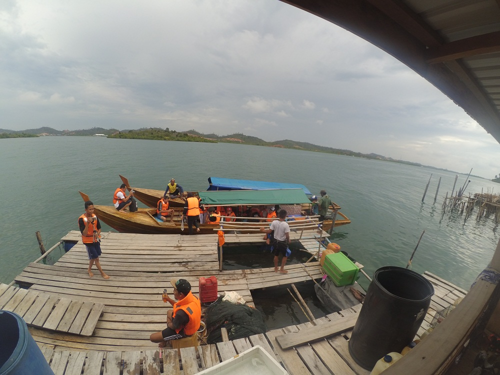 Dok Pri/Dermaga di Pulau Nguan.