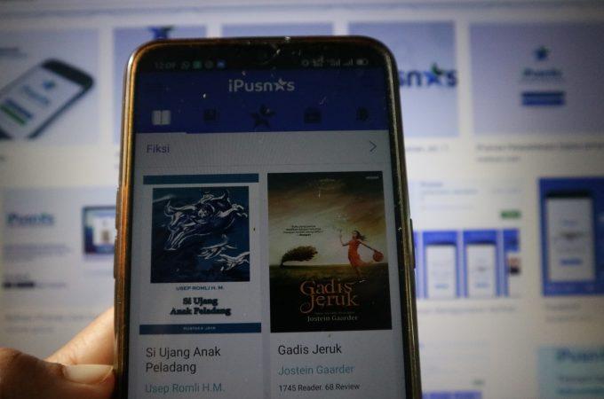 Membaca Buku Digital Gratis di iPusnas