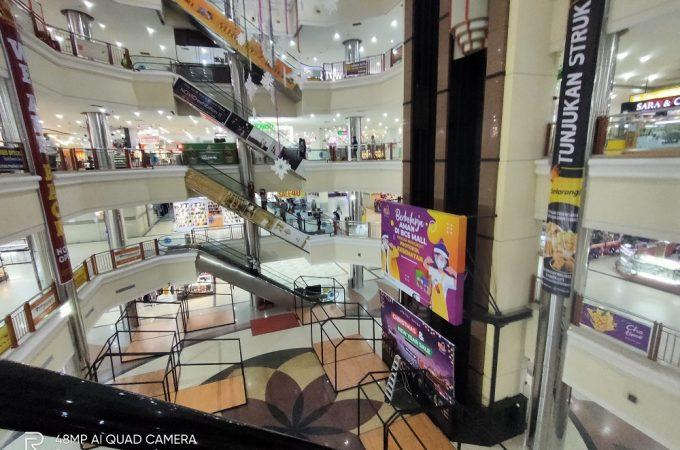 Efek Pandemi, Mall Masih Sepi