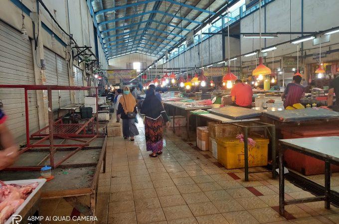 Imlek, Pasar Tradisional Batam Lengang